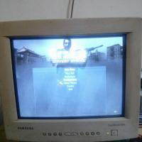samsung crt monitor+tv card  fOR sALE