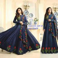 Indian Latest Floor Touch Gown