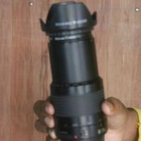 cannon 80-200 mm zoom lans. made in japan. use 5 manth