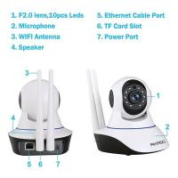 BHZ wireless SMART IP CAMERA (1 year warranty)