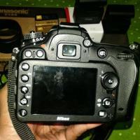 Nikon d7100 with 55-200mm vr ll & 35-70 zoom lense..