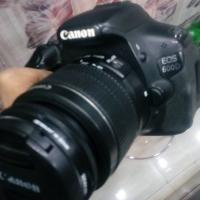 canon 600d with 55-250mm lens