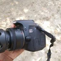 Canon 700D With 50mm 1.8 STM