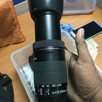canon 55-250mm STM CANON 55-250mm is 2