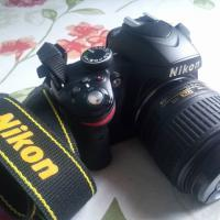 nikon D3200 with 18-55mm VR lens