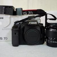 Canon 7d with 18-55mm