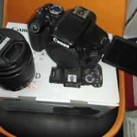 Canon 600D with 18-55mm IS II Lens