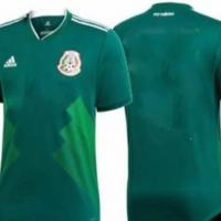 2018 World Cup Maid In China Mexico Home Half Sleeve Jersey