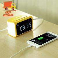 REMAX LED ALARM DIGITAL CLOCK 4USB MOBILE PHONE ADAPTER RM-C05