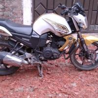 Yamaha FZs 2015, Color: White Golden,