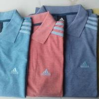 Original Adidas (sports wear) but you can use also polo Shirt