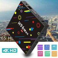 H96 MAX H1 Tv Box Android 7.1 4Gb Ram