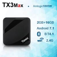 Tanix TX3 Max 4k + 16GB  2GB  Android 7.1 Amlogic S905W TV Box