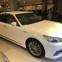 TOYOTA CROWN ROYAL SEALLON G HYBRID PEARL 2013