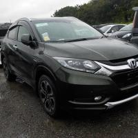 HONDA VEZEL Z HYBRID BOTTLE GREEN 2014