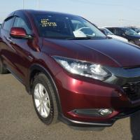 HONDA VEZEL X HYBRID RED WINE 2014
