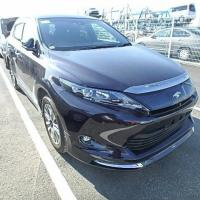 TOYOTA HARRIER PREMIUM BLACK 2015