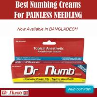 Dr.Numb is the best selling Anesthetic cream on the market today. Painless microneedilg for dermal procedure, Totally pain free!