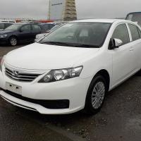 TOYOTA ALLION A15 WHITE 2014